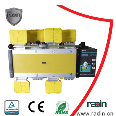 Motorized Manual Transfer Switch Auto High Security Max + 60ºC for Power System